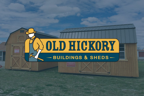 Old Hickory Buildings And Sheds Brand