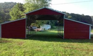 Agricultural Metal Barn Carport